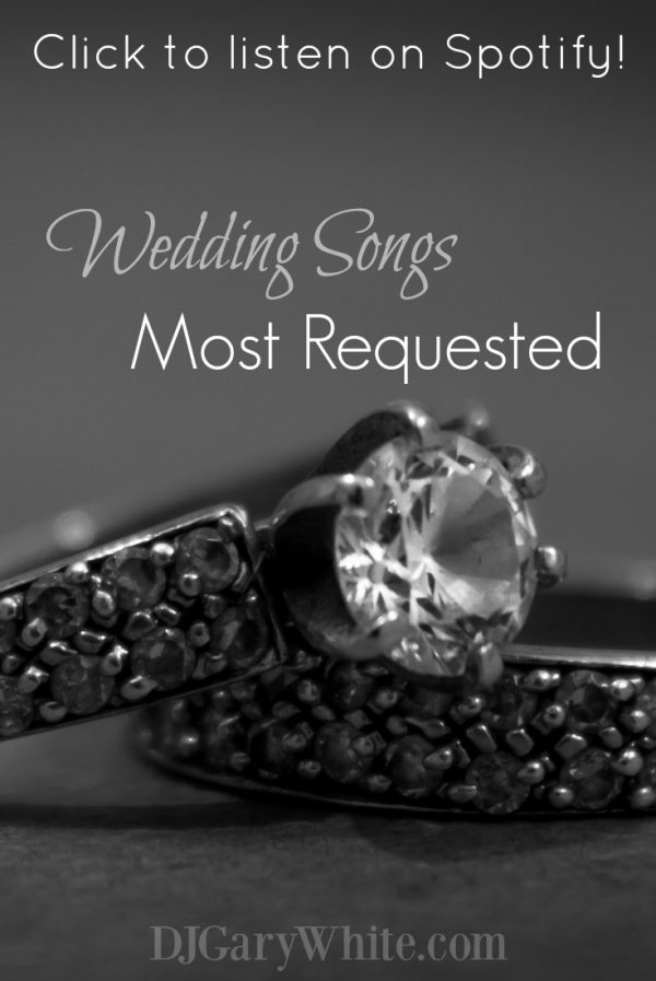 Requested Wedding Songs Most Common