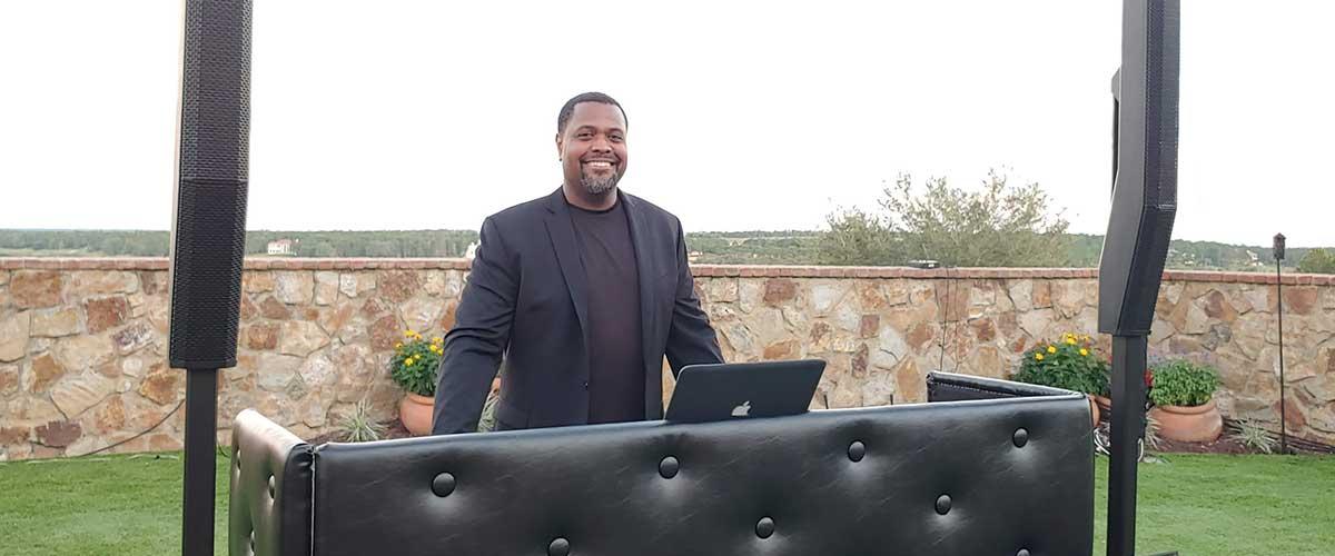 Orlando DJ Gary White at Bella Collina